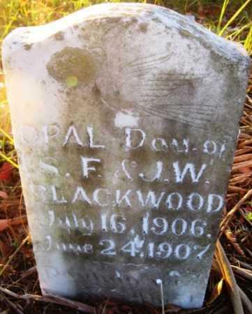 BLACKWOOD, OPAL - Howard County, Arkansas | OPAL BLACKWOOD - Arkansas Gravestone Photos