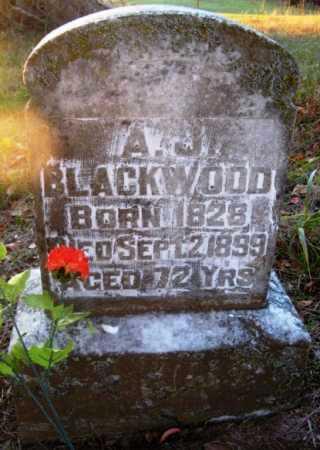 BLACKWOOD (VETERAN CSA), ANDREW J - Howard County, Arkansas | ANDREW J BLACKWOOD (VETERAN CSA) - Arkansas Gravestone Photos