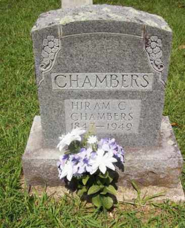 CHAMBERS, HIRAM CALHOUN - Howard County, Arkansas | HIRAM CALHOUN CHAMBERS - Arkansas Gravestone Photos