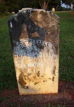 CORBELL  (VETERAN CSA), JAMES S - Howard County, Arkansas | JAMES S CORBELL  (VETERAN CSA) - Arkansas Gravestone Photos