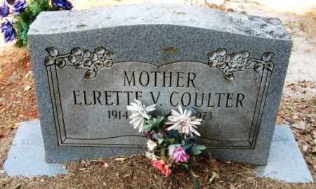 COULTER, ELRETTE V - Howard County, Arkansas | ELRETTE V COULTER - Arkansas Gravestone Photos