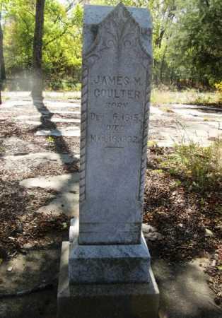 COULTER, JAMES M - Howard County, Arkansas   JAMES M COULTER - Arkansas Gravestone Photos