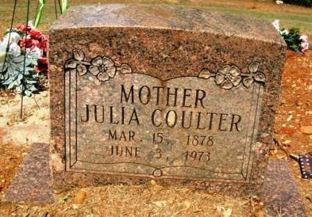COULTER, JULIA - Howard County, Arkansas | JULIA COULTER - Arkansas Gravestone Photos