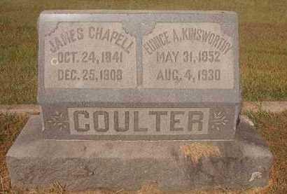 COULTER, EUNICE A - Howard County, Arkansas   EUNICE A COULTER - Arkansas Gravestone Photos