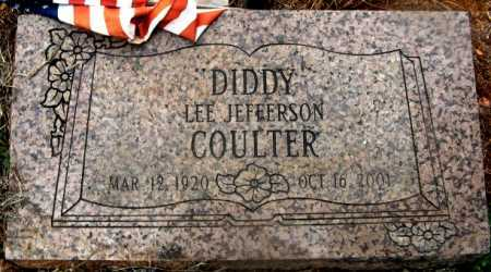 """COULTER, LEE JEFFERSON """"DIDDY"""" - Howard County, Arkansas   LEE JEFFERSON """"DIDDY"""" COULTER - Arkansas Gravestone Photos"""