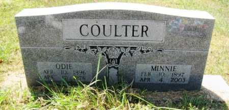 COULTER, ODIE - Howard County, Arkansas | ODIE COULTER - Arkansas Gravestone Photos