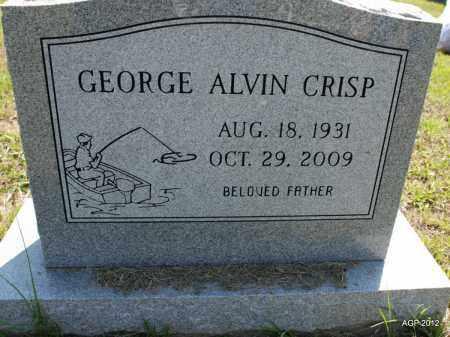 CRISP, GEORGE ALVIN - Howard County, Arkansas | GEORGE ALVIN CRISP - Arkansas Gravestone Photos
