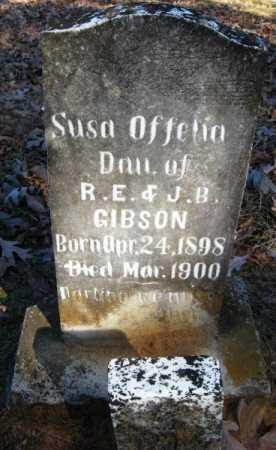 GIBSON, SUSA OFFELIA - Howard County, Arkansas   SUSA OFFELIA GIBSON - Arkansas Gravestone Photos