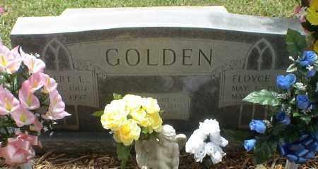 GOLDEN, FLOYCE - Howard County, Arkansas | FLOYCE GOLDEN - Arkansas Gravestone Photos
