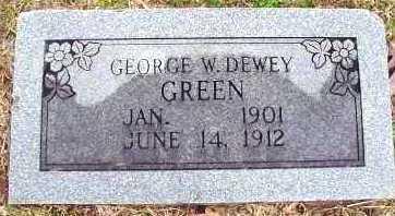 GREEN, GEORGE W DEWEY - Howard County, Arkansas   GEORGE W DEWEY GREEN - Arkansas Gravestone Photos