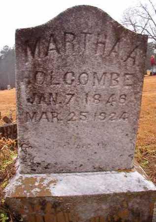 HOLCOMBE, MARTHA A - Howard County, Arkansas | MARTHA A HOLCOMBE - Arkansas Gravestone Photos
