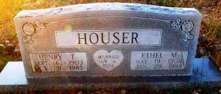 HOUSER, HENRY T - Howard County, Arkansas   HENRY T HOUSER - Arkansas Gravestone Photos