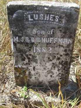 HUFFMAN, LUSHES - Howard County, Arkansas | LUSHES HUFFMAN - Arkansas Gravestone Photos