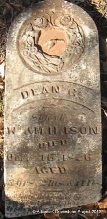 ISON, DEAN C - Howard County, Arkansas | DEAN C ISON - Arkansas Gravestone Photos