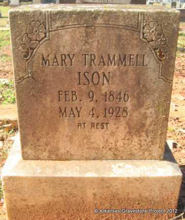 ISON, MARY - Howard County, Arkansas | MARY ISON - Arkansas Gravestone Photos