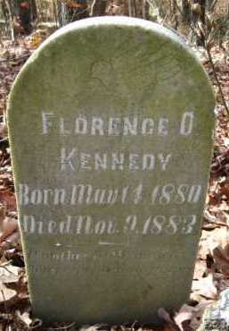 KENNEDY, FLORENCE O  (CLOSE UP) - Howard County, Arkansas | FLORENCE O  (CLOSE UP) KENNEDY - Arkansas Gravestone Photos