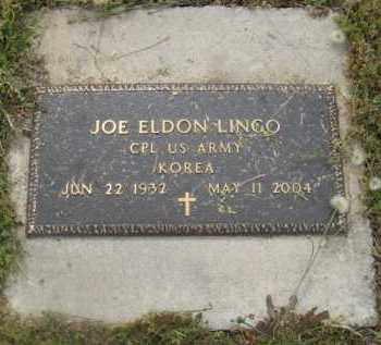 LINGO  (VETERAN KOR), JOE ELDON - Howard County, Arkansas | JOE ELDON LINGO  (VETERAN KOR) - Arkansas Gravestone Photos