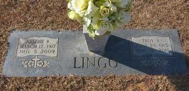 LINGO, TROY TELLOUS - Howard County, Arkansas   TROY TELLOUS LINGO - Arkansas Gravestone Photos