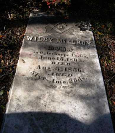 MCELROY, WILEY - Howard County, Arkansas | WILEY MCELROY - Arkansas Gravestone Photos