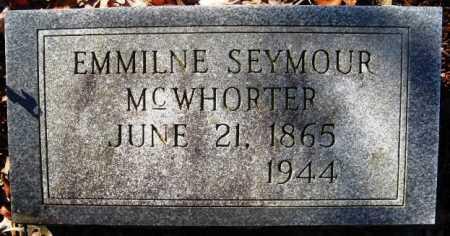 MCWHORTER, EMMILINE - Howard County, Arkansas | EMMILINE MCWHORTER - Arkansas Gravestone Photos