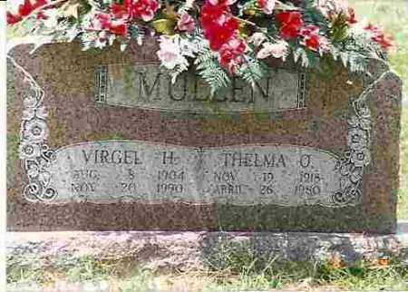 MULLEN, THELMA O. - Howard County, Arkansas   THELMA O. MULLEN - Arkansas Gravestone Photos