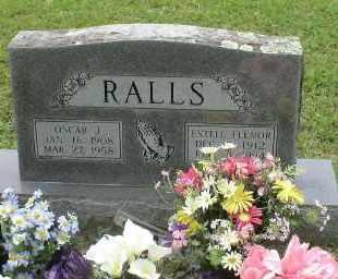 RALLS, OSCAR - Howard County, Arkansas | OSCAR RALLS - Arkansas Gravestone Photos