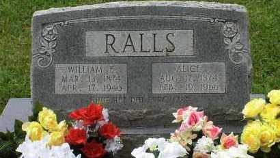 "RALLS, WILLIAM ""BILL"" - Howard County, Arkansas 