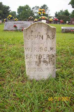 SANDERS, JOHN A - Howard County, Arkansas | JOHN A SANDERS - Arkansas Gravestone Photos