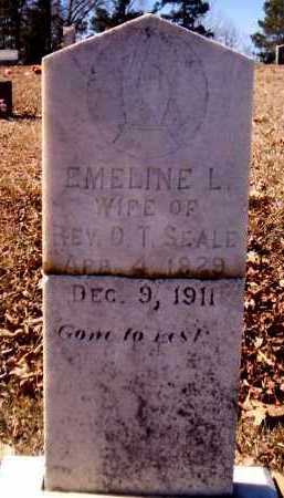 SEALE, EMELINE L - Howard County, Arkansas | EMELINE L SEALE - Arkansas Gravestone Photos