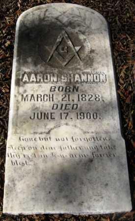 SHANNON, AARON - Howard County, Arkansas   AARON SHANNON - Arkansas Gravestone Photos
