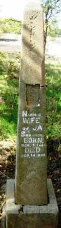 SHANNON, NANNIE - Howard County, Arkansas | NANNIE SHANNON - Arkansas Gravestone Photos