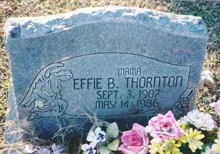 THORNTON, EFFIE B - Howard County, Arkansas   EFFIE B THORNTON - Arkansas Gravestone Photos
