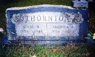 THORNTON, ISSAC W - Howard County, Arkansas | ISSAC W THORNTON - Arkansas Gravestone Photos
