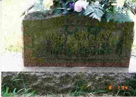 WAGLAY, ANEY - Howard County, Arkansas | ANEY WAGLAY - Arkansas Gravestone Photos
