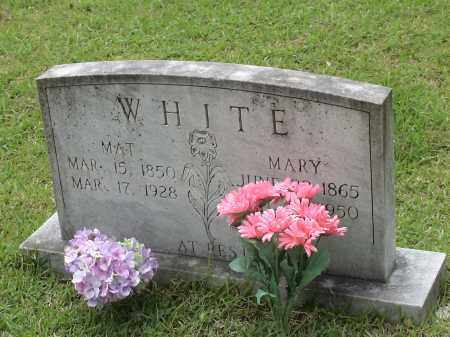WHITE, MARY - Howard County, Arkansas | MARY WHITE - Arkansas Gravestone Photos