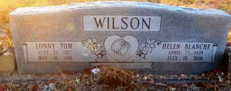 WILSON, LONNY TOM - Howard County, Arkansas | LONNY TOM WILSON - Arkansas Gravestone Photos