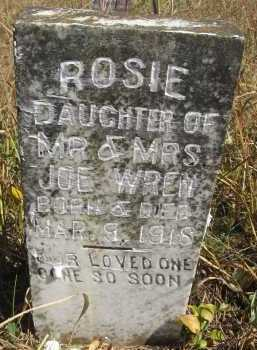 WREN, ROSIE - Howard County, Arkansas | ROSIE WREN - Arkansas Gravestone Photos