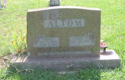 ALTOM, IRENE - Independence County, Arkansas | IRENE ALTOM - Arkansas Gravestone Photos