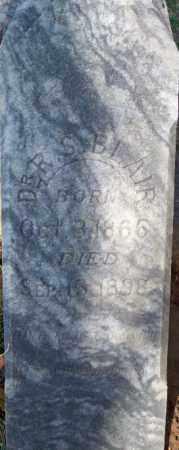 BLAIR, R. S., DR - Independence County, Arkansas   R. S., DR BLAIR - Arkansas Gravestone Photos