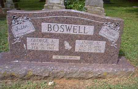 BOSWELL, GEORGE A. - Independence County, Arkansas | GEORGE A. BOSWELL - Arkansas Gravestone Photos