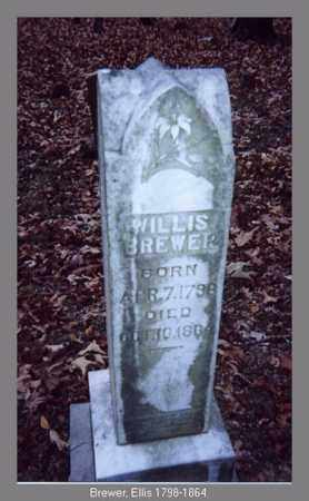 BREWER, WILLIS - Independence County, Arkansas | WILLIS BREWER - Arkansas Gravestone Photos