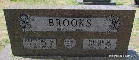 BROOKS, WILLIE M - Independence County, Arkansas | WILLIE M BROOKS - Arkansas Gravestone Photos