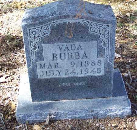 BURBA, VADA - Independence County, Arkansas   VADA BURBA - Arkansas Gravestone Photos