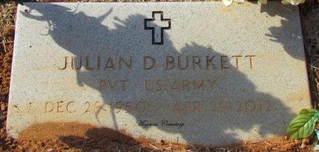 BURKETT (VETERAN), JULIAN D - Independence County, Arkansas | JULIAN D BURKETT (VETERAN) - Arkansas Gravestone Photos