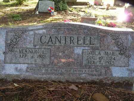 CANTRELL, NOLA MAE - Independence County, Arkansas | NOLA MAE CANTRELL - Arkansas Gravestone Photos