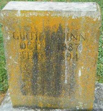 CHINN, GIRTIE - Independence County, Arkansas | GIRTIE CHINN - Arkansas Gravestone Photos