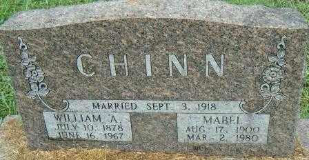 CHINN, MABEL - Independence County, Arkansas | MABEL CHINN - Arkansas Gravestone Photos