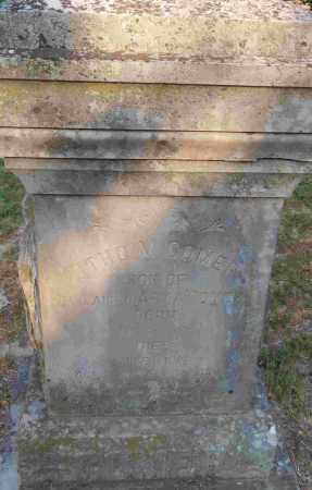 COMER, ORTHO M - Independence County, Arkansas | ORTHO M COMER - Arkansas Gravestone Photos