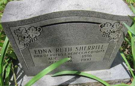 CONDITT, EDNA RUTH SHERRILL - Independence County, Arkansas | EDNA RUTH SHERRILL CONDITT - Arkansas Gravestone Photos