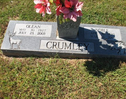 LILES CRUMLEY, OLEAN - Independence County, Arkansas | OLEAN LILES CRUMLEY - Arkansas Gravestone Photos